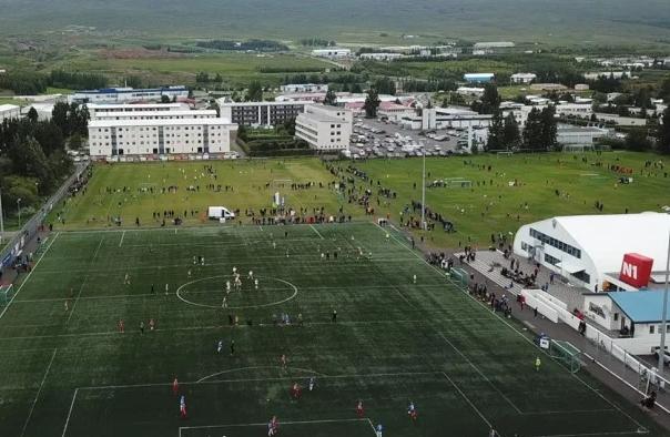 KA-svæðið. Mynd/Akureyri.is